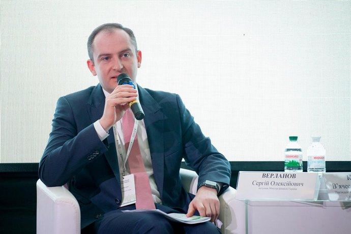 Глава Державної податкової служби Сергій Верланов